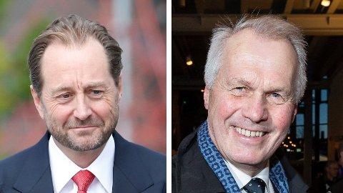 GÅR SAMMEN: Kjell Inge Røkkes Aker og Gustav Witzøes Salmar går sammen om nytt selskap.