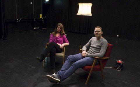 BEKYMRET: Kristin Fyrand Mikkelsen og Gunnar Flagstad hos kammermusikkarrangøren Resonans gleder seg til eksklusiv konsert i mai. Foto: Henning gulbrandsen