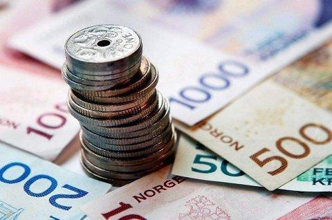 Sjekk kontoen din. I dag kommer pengene.