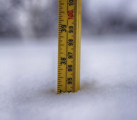 Snømengden er allerede vesentlig i store deler av regionen. Neste uke vil det komme mer.
