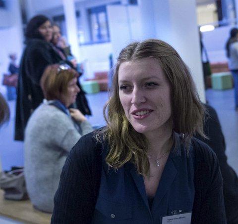 HIG-student: Synne Østern er en av svært få kvinner som studerer informasjonssikkerhet.