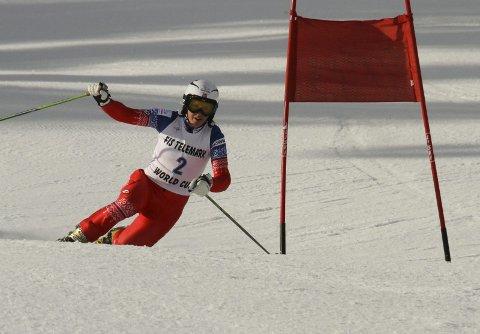 I FORM: Mathilde Olsen Ilebrekke suste inn til en flott andreplass i Rauris.  Foto: Petter Ekran