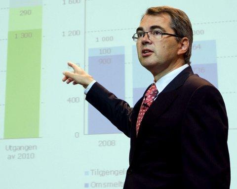 MYE Å TILBY: Styreleder Svein Richard Brandtzæg ved NTNU er til daglig konsernsjef i Norsk Hydro. Han mener HiG med blant annet sitt gode nettverk til næringsliv og industri har mye å tilby NTNU.Arkivbilde