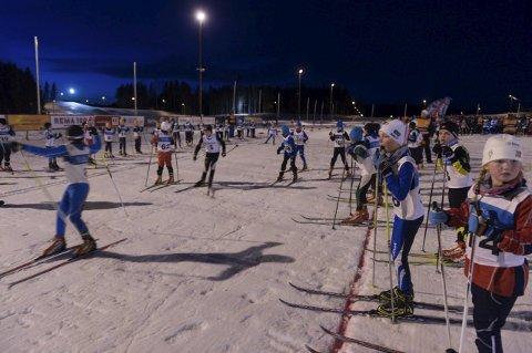 Madshus Skifestival. Arkivbilder