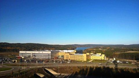 I BRUK: Det nye sykehuset utenfor Sarpsborg ble tatt i full bruk for et år siden.