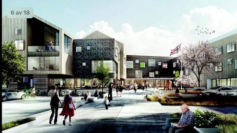 Østre Totens nye helse- og omsorgssenter, Labo, skal bygges av Backe Oppland AS