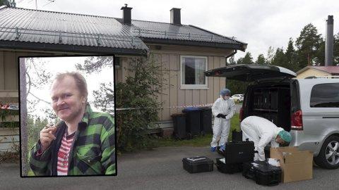 KNIVSTUKKET OG BRENT: Nils Olav Bakken fra Dokka ble tatt av dage på svært brutalt vis i fjor høst.