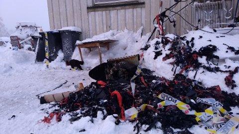 SKADET: En mann fikk brannskader da det brøt ut ild i en bolig på Odnes natt til onsdag. Arkivbilde