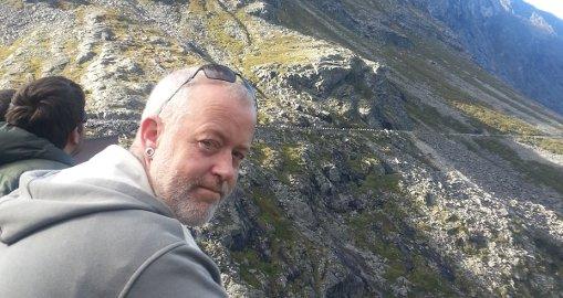 OMKOM: - Sverre var limet i familien vår, sier Tove Solbakken Aandahl om mannen som mistet livet i ulykken på Eina. Foto: privat