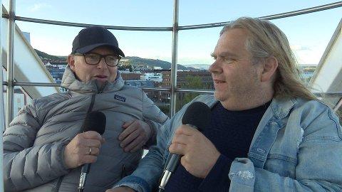 MIMRING: Leif Anders Wentzel og OAs Frode Hermanrud mimrer om «gamle markensdager» i denne utgaven av OA-podden Backstage.