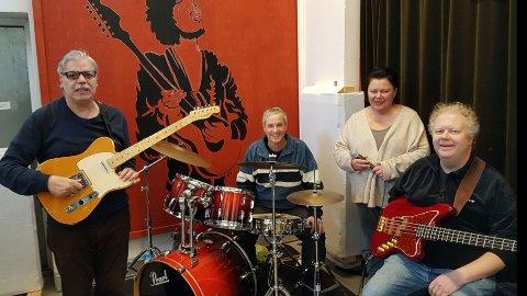 Gjøvikbandet Los Ænsjless er en av 6 grupper som spiller i Gjøvik kirke fredag kveld 6. desember