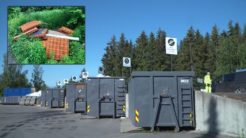 Flere mener det har blitt for dyrt å kvitte seg med restavfall på Dalborgmarka, og mener dette er årsaken til at folk dumper søppel ute i naturen.
