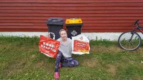 PARADOKS: Anna Kamilla sluttet å bruke plastposer. Så fant hun ut at hun er helt avhengig av dem.
