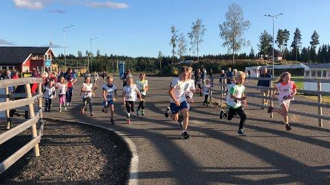 Starten på 1 kilometer