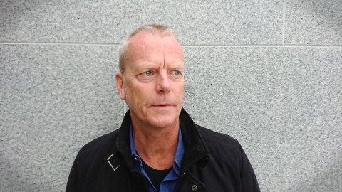 LUNSJKRANGEL: Anders Fosen, leder for Fagforbundet i Asker kommune.