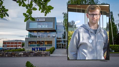 Begeistret: Studentparlamentsleder ved NTNU, Svein-Erik Strandabø Olsen er begeistret over den rekordlave studielånsrenten.
