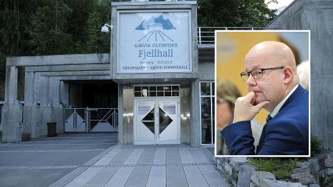 BEREDSKAPSLAGER: Ordfører i Gjøvik, Torvild Sveen ønsker å utbygge Innlandets største beredskapslager, med Gjøvik Olympiske Anlegg som lokasjon.