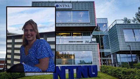 LÆRINGSUTBYTTE: Ingeborg Vea Olsen synes læringsutbytte har vært dårligere etter at korona kom.