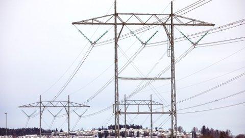 DYRT: Den vedvarende kulden gir av og til ekstreme strømpriser. Foto: Ole Berg-Rusten