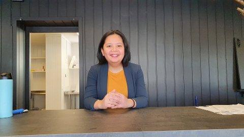 EN DRØM: Når OA er innom noen dager før åpning er det fremdeles en del igjen å gjøre før alt er klart, men Marju Dame Meijas (28) er bestemt på å gi folk på Gjøvik den beste sushien i restauranten Daisuki.