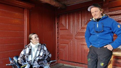 GJENSIDIG: Ida Øye Bjørkvold (28) og Jan-Kåre Heiberg (39) kappes om å rose den andre.