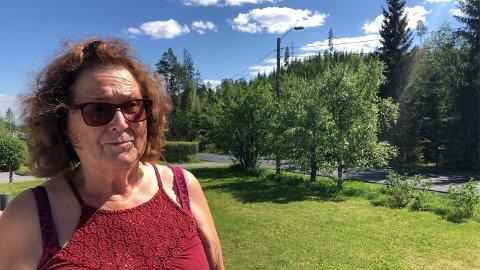 OPPGITT: Anne Lise Svartbæk håper på tiltak for å få ned biltrafikken.
