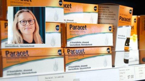 UTFORDRER APOTEK-KJEDENE: - Dersom vi solgte Paracet til samme pris som de store kjedene Nettavisen sammenlikner oss med, ville våre marginer vært fantastiske, sier Elisabeth Haug, adm.dir. i Farmasiet.no.