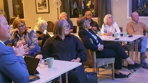 TILBAKEGANG: Kari Anne Jønnes og Høyre må registrere en tilbakegang, men kan glede seg over at mandatet virker relativt trygt.