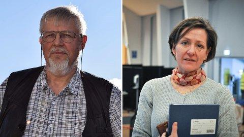 HVA SKJER NÅ: Kommuneoverlegene Jens A. Mørch og Siri Fuglem Berg er henholdsvis spent og har lite tro på at Norge blir gjenåpnet nå.