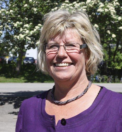 BEVISST JOBBING: Kommunalsjef Jorunn B. Almaas.