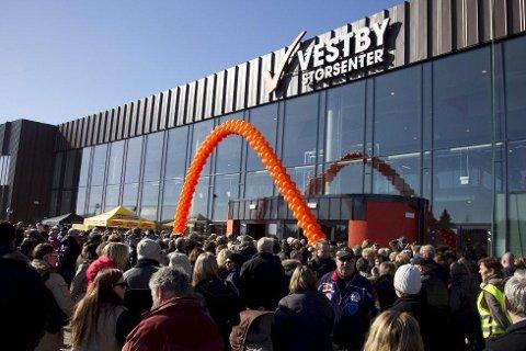 Vestby storsenter slet etter åpningen i 2013, men nå har omsetningen økt dramatisk.