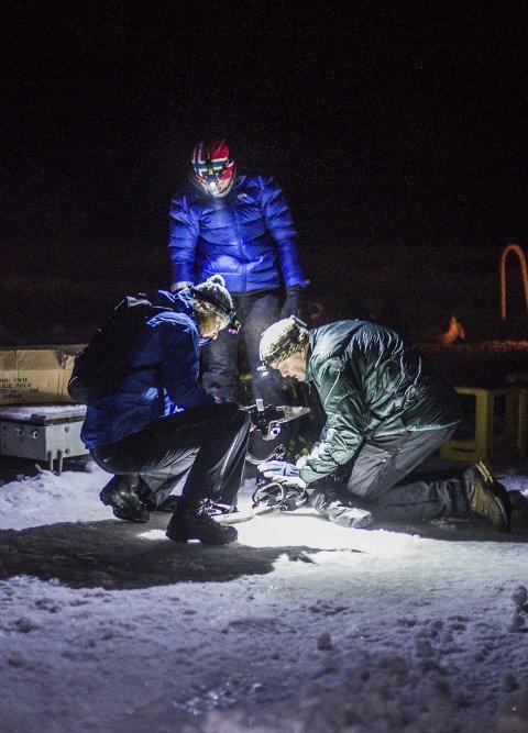 SKISKO: Alt man trenger for turskøytene er å ha med skisko.