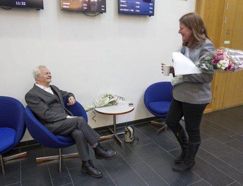 Imponert: Ordføreren Ildri Eidem Løvaas var både imponert og inspirert over Birkelunds prestasjon.