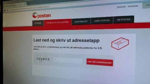 Epost-svindlere gir seg ut for å være Posten. Foto: Alexander Winger (Nettavisen)
