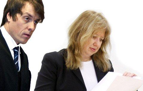 DOM: Den svenske kvinnen dukket ikke opp i rettssaken, måtte politiadvokat Ole Kristian Bjørge og forsvarer advokat Ann Gunn Edvardsen registrere. Dommen falt 20. januar og er ikke rettskraftig.