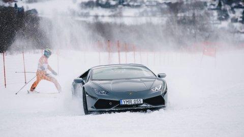 I løypenettet: «Børning 2» har fete scener, lover produsenten. Blant annet kjøres det lekre biler i skianlegget i Oppdal.Begge FOTO: Filmkameratene