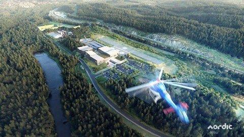 BEREDSKAPSSENTERET: Regjeringen vil bruke 660 millioner kroner neste år på beredskapssenteret på Taraldrud.