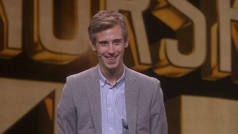 IMPONERENDE: Fredrik Moe er klar for selveste finalen i Norske Talenter på TV2 i kveld.