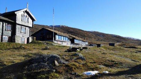 POPULÆR FJELLHYTTE: DNT-hytta på Haukeliseter liger ved inngangen til Hardangervidda nasjonalpark.