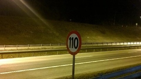 FOR TIDLIG: Det er for tidlig å si hvorvidt fartsgrensen kan økes til 120 km/t på E18- eller E6-strekninger gjennom Follo.