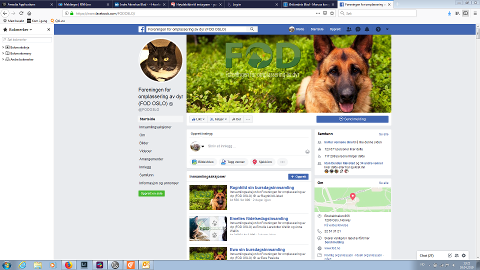 I RETTEN: Foreningen for omplassering av dyr (FOD) gikk rettens vei for å sikre sin egen Facebook-side.