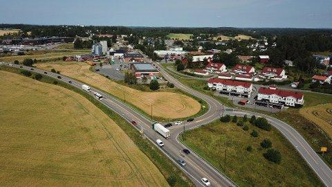 ENGASJEMENT: Krysset Osloveien/Garderveien var blant temaene som skapte engasjement på folkemøte.