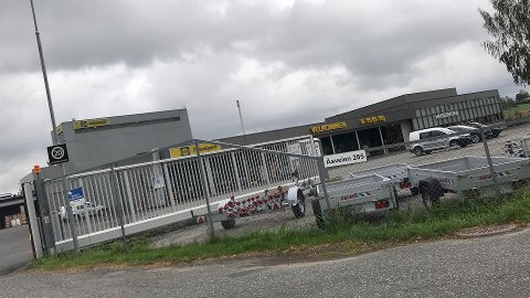 En eventuell streik vil påvirke Felleskjøpet på Holstad.