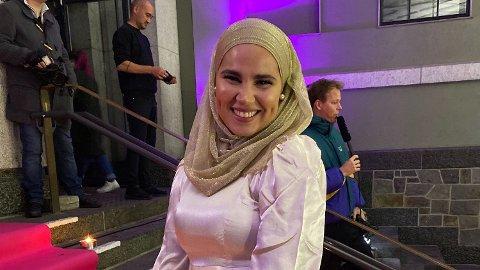FESTKLAR: Iman Meskini er blant kjendisene som er til stede på Gamle Museet onsdag kveld.