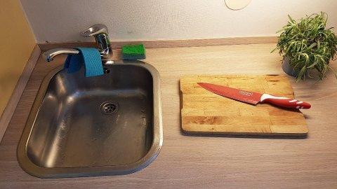 Det kan være mer bakterier på kjøkkenet ditt enn på badet.