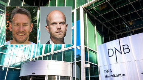 KRITISKE: - Bankene benytter anledningen til å øke inntjeningen på kunder som de ikke har tjent så godt på i det siste, sier Sindre Noss (innfelt venstre) om bankenes delvise rentekutt. - Sjokkerende lave andeler, sier Hallgeir Kvadsheim.