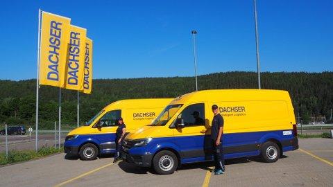 EL-VAREBIL: Dachser Norway som holder til på Vinterbro har gått til anskaffelse av to el-varebiler som skal levere varer til Oslo sentrum. På den måten leverer logistikkfirmaet varer utslippsfritt.