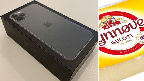 SENDTE OST: Den unge mannen tok betalt for en mobiltelefon og leverte en ost.