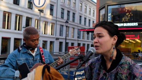 JAZZ: The Voice-Sarah fra Kolbotn elsker å synge på gata.