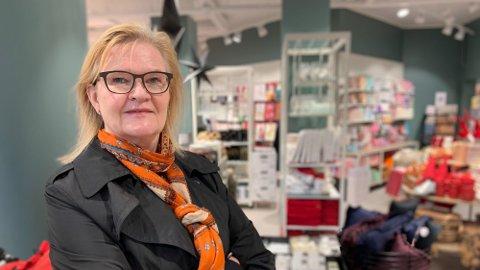 SJEF: Kjersti Hobøl er sjef i Nille (Foto: Halvor Ripegutu)